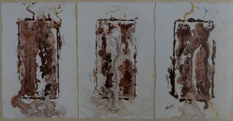 Grabado, pintura, arte, color